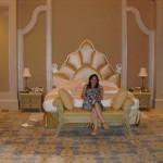 Um dos quartos do Palace Suite