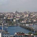 Istambul vista de um dos ângulos da torre